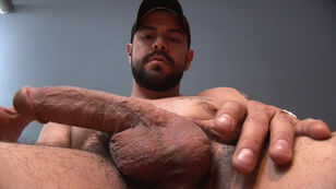 super-sexy fur covered porn star dominic sol jacks off at..