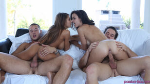 Pretty enormous   Madison Ivy and Dillion Harper in..
